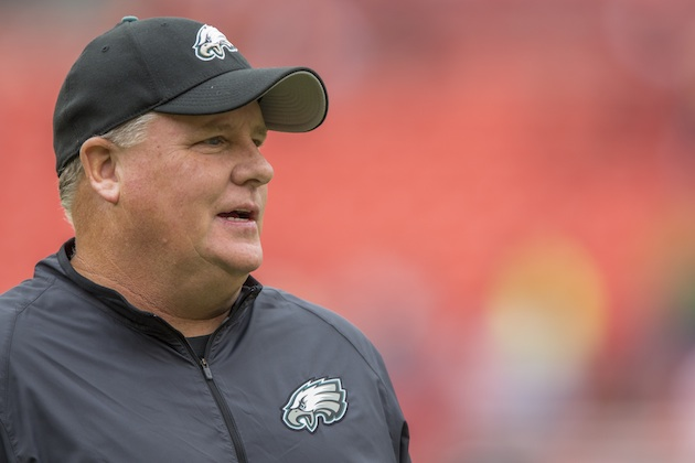Philadelphia Eagles head coach Chip Kelly.