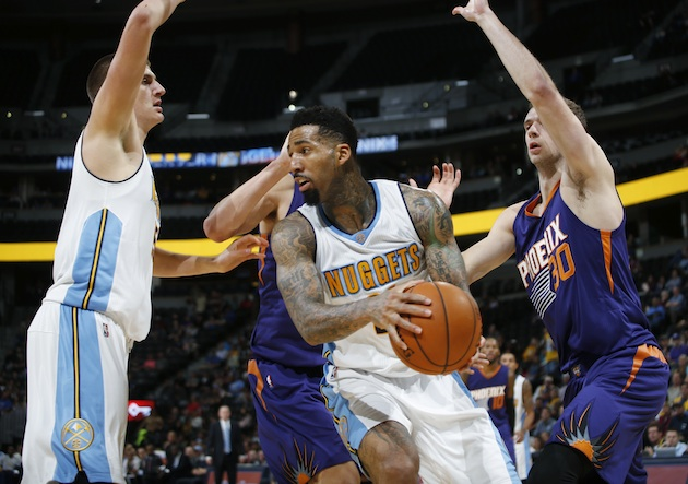 Wilson Chandler (center) is an example of an NBA player whose averageness can be a boon to certain teams.