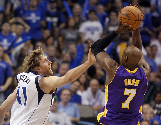 Lamar Odom ultimately embraced his bench role and won Sixth Man of the Year