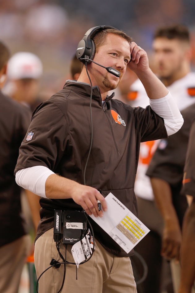 The Cleveland Browns have struggled to adjust to defensive coordinator Jim O'Neil's Rex Ryan-inspired schemes.