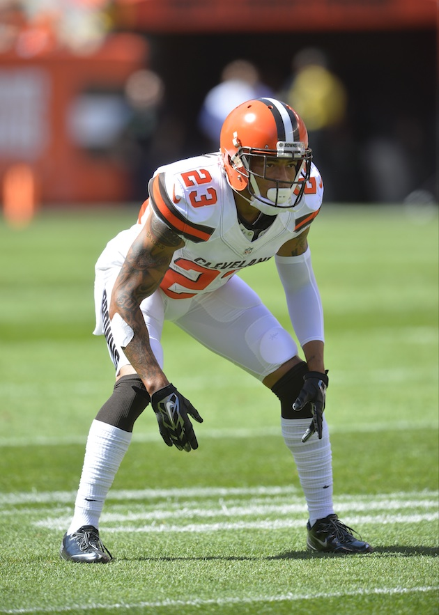 Cornerback Joe Haden has been one of the few bright spots for the Cleveland Browns defense this season.