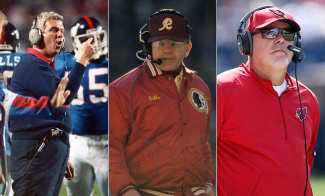 Parcells, Gibbs and Arians each had a hand in molding Bowles as a coach.