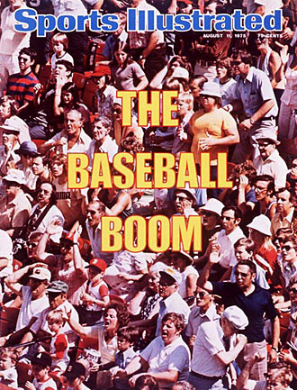 As this 1975 SI cover attests, baseball was already surging that summer, but Game 6 catapulted the sport to even greater heights.