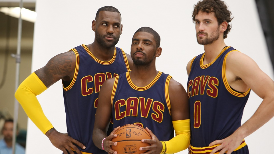 The Cavaliers' Big Three could take a big step forward offensively this season