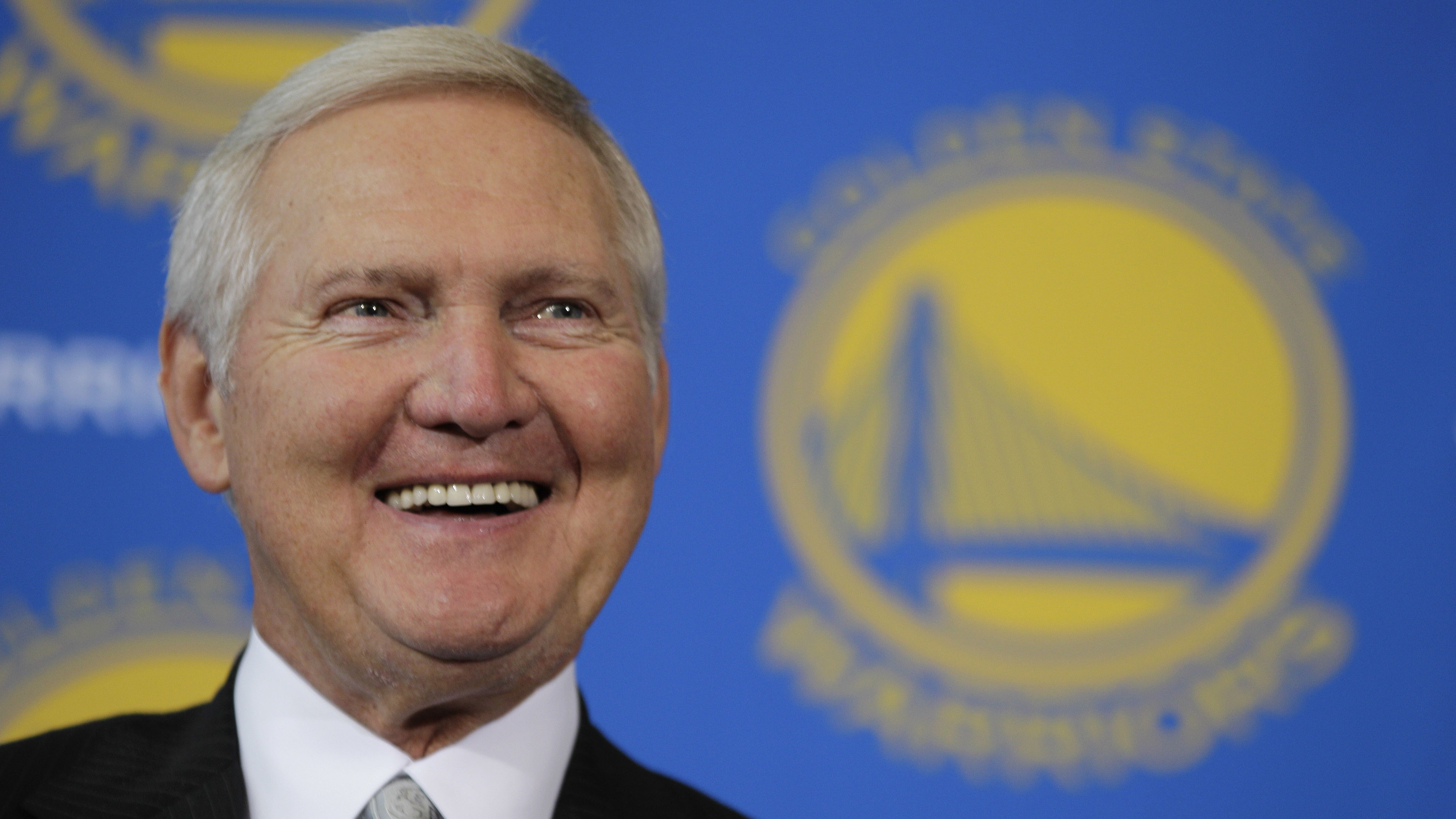 NBA Jerry West says league s logo should be Michael Jordan