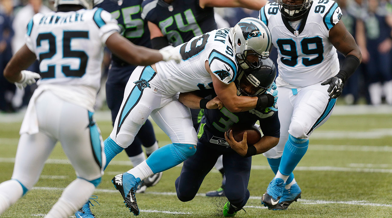 Luke Kuechly had 14 tackles against the Seahawks in his Week 6 return.