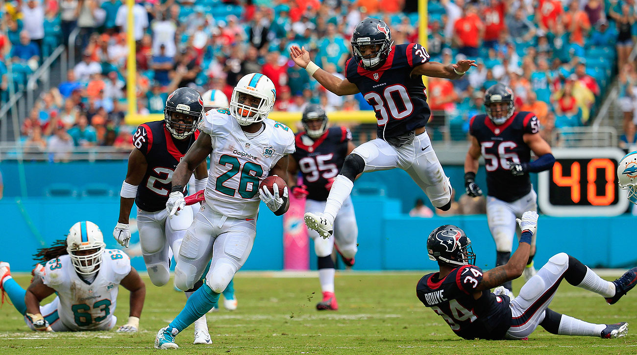 Led by Lamar Miller, the Dolphins offense has exploded over the past two games. The 82 points in that stretch is 19 more than Miami scored in its first four games combined.
