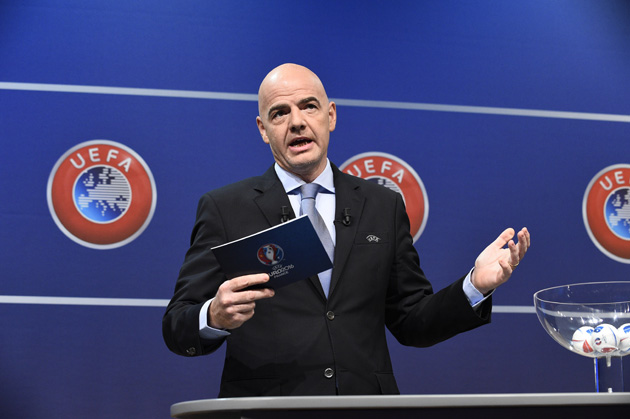 Gianni Infantino, FIFA presidential candidate