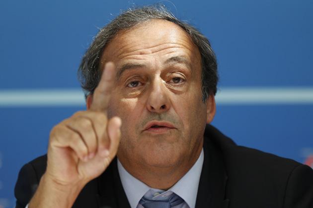 Michel Platini, FIFA presidential candidate