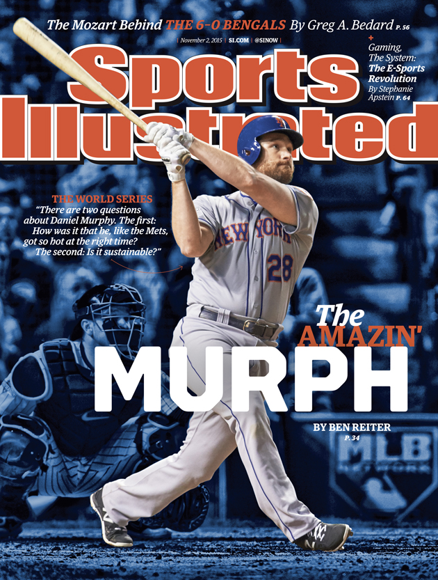 sports illustrated cover new york mets daniel murphy world series