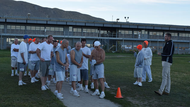 utah prison inmates run marathon