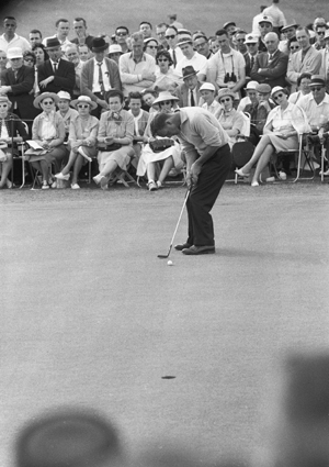 At Augusta in 1960, Arnold