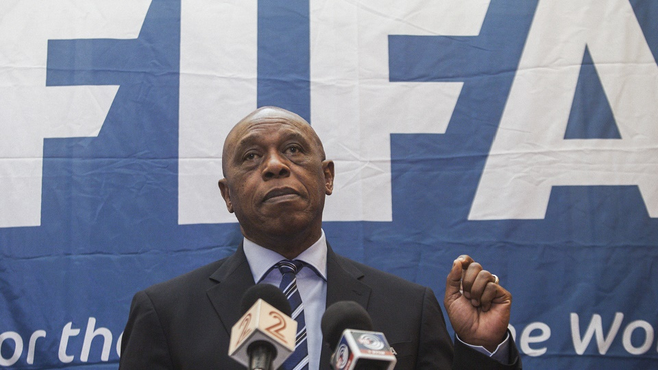 Is this Tokyo Sexwale? Is he a real FIFA candidate?