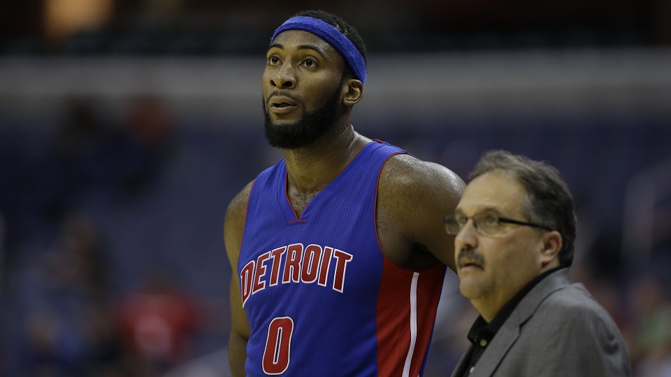 Stan Van Gundy is using Andre Drummond as the fulcrum of his four-out offense