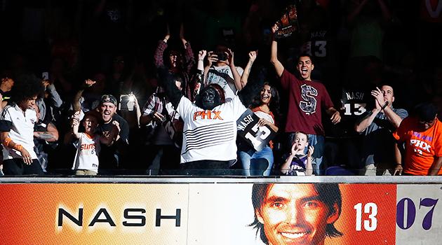 Steve Nash Phoenix Suns Ring of Honor
