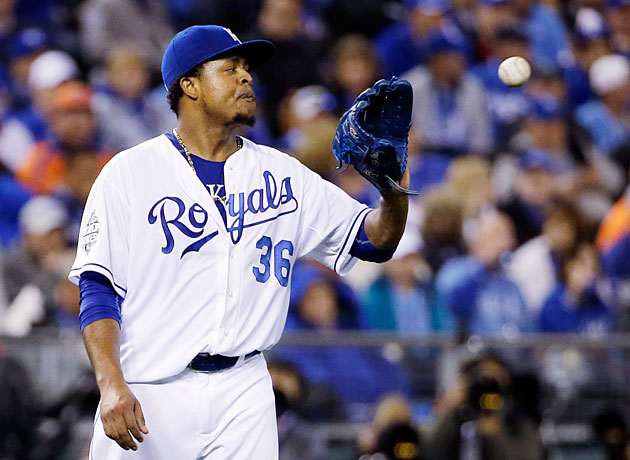 Edinson Volquez Kansas City Royals