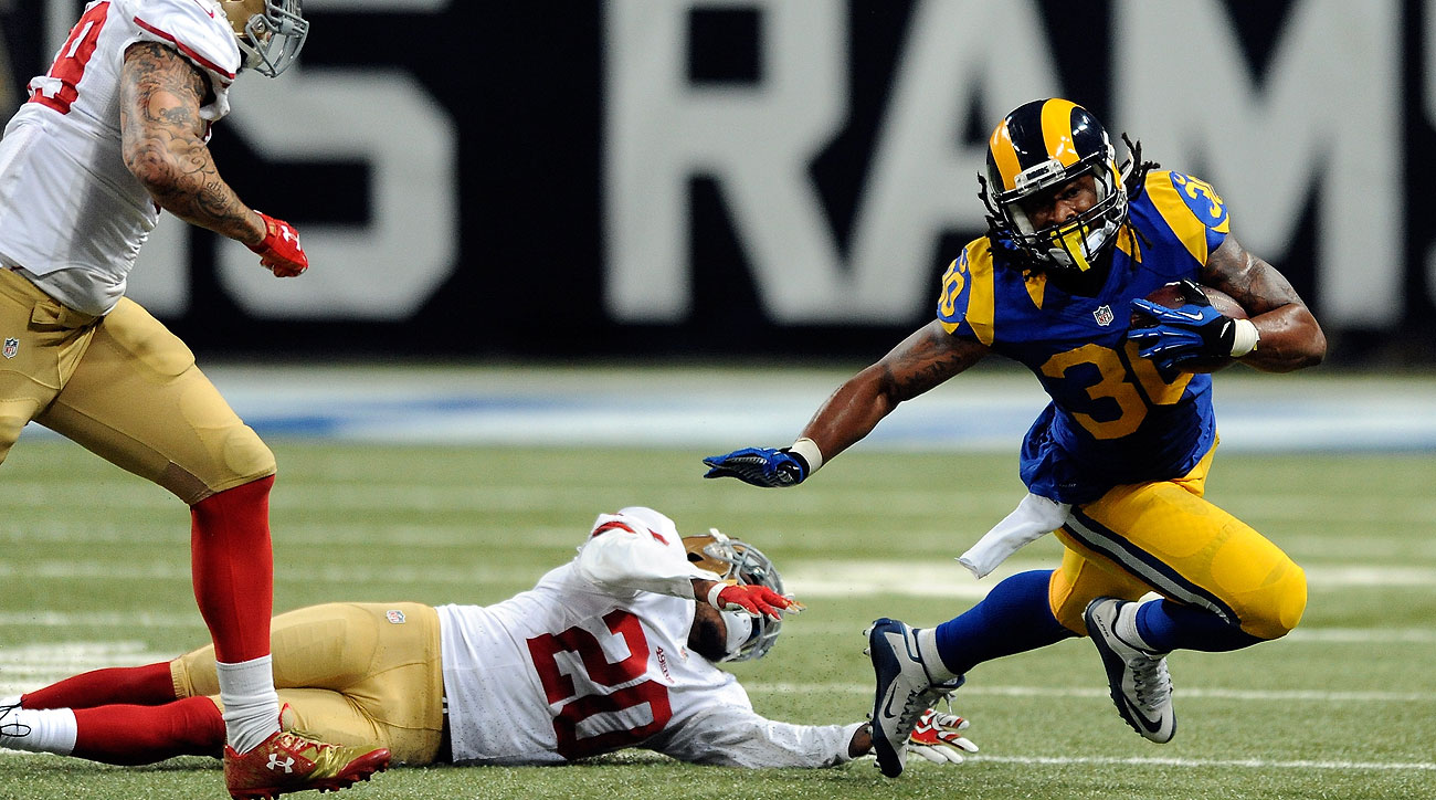 Todd Gurley's 566 rushing yards in his first four career games is an NFL record.