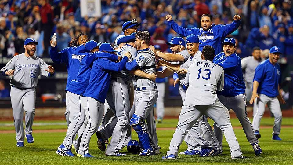 Royals celebrate World Series win