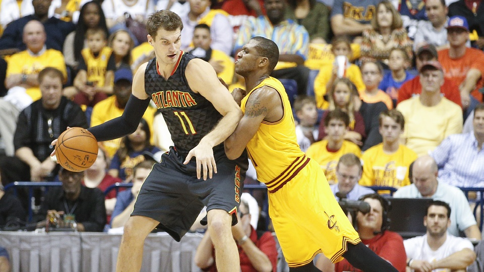 Tiago Splitter's passing and defense will be crucial for the Atlanta Hawks.