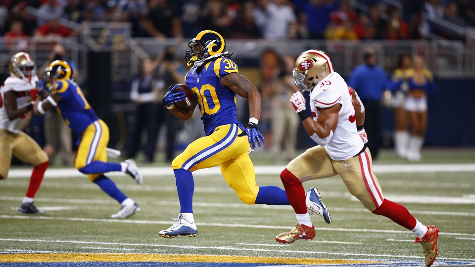 Todd Gurley is the NFL's breakout star at running back