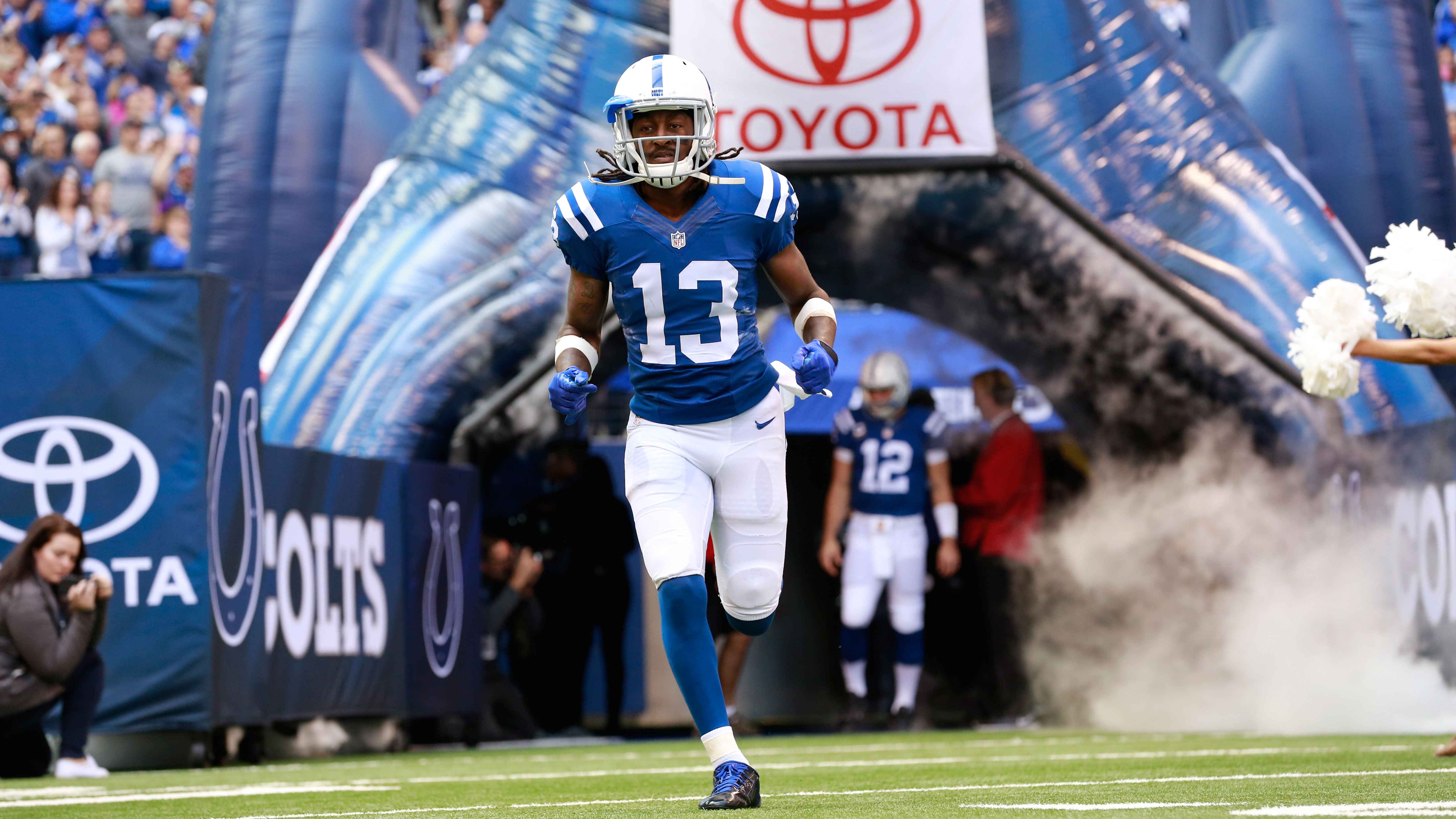 Indianapolis Colts TY Hilton has foot injury day to day