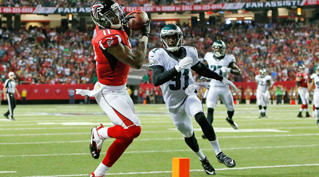 Eagles CB Byron Maxwell burned by Julio Jones.