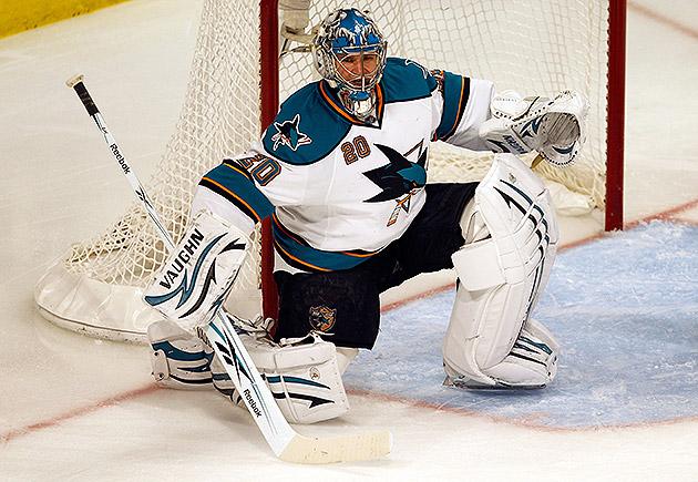 Evgeni Nabokov San Jose Sharks