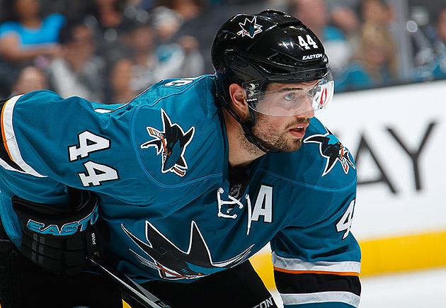 San Jose Sharks Marc-Edouard Vlasic