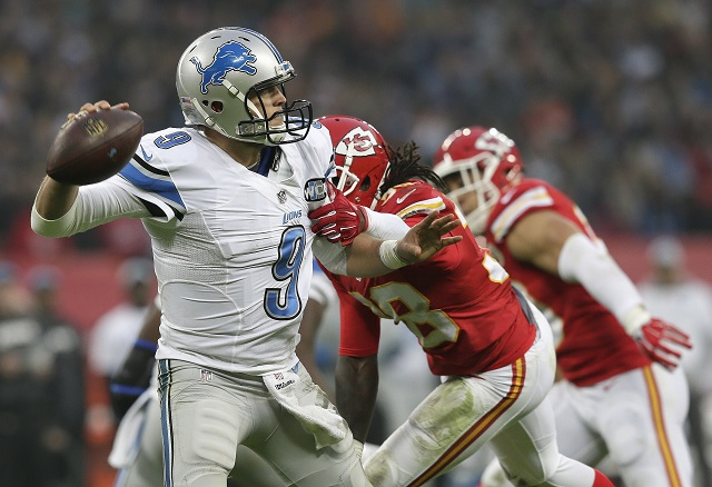 Matthew Stafford is struggling to save the Detroit Lions this season
