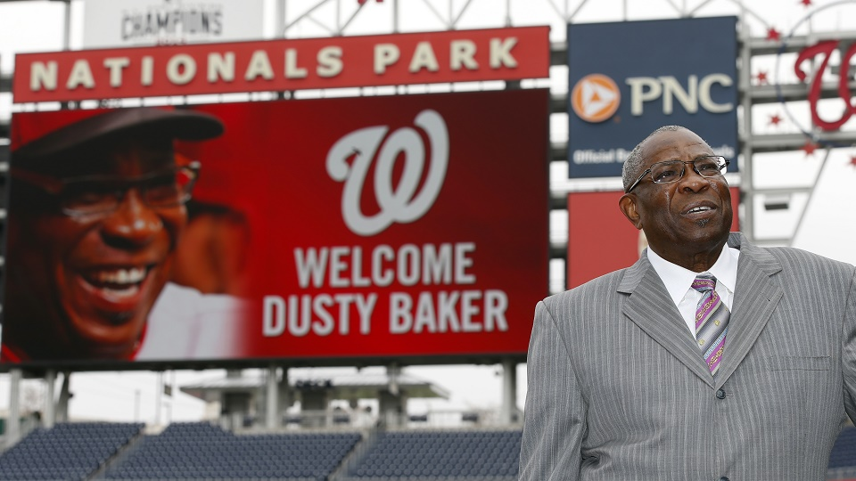 Dusty Baker isn't great, but then again, neither are most MLB managers.