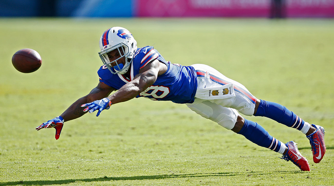 Percy Harvin caught 71 passes for three teams over the past three seasons, including 19 with the Bills in 2015.