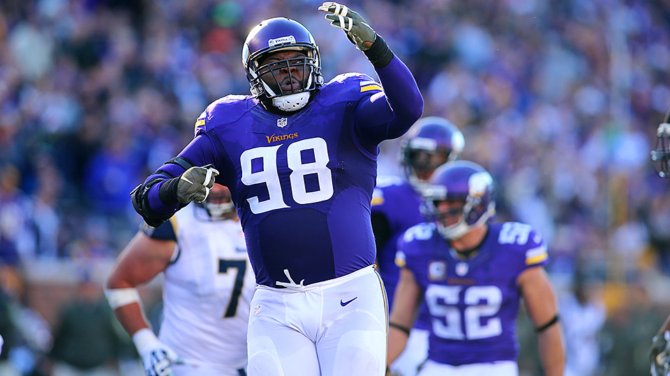 ... Jersey Linval Joseph a key part of Minnesota Vikings rise through NFL  SI.com ... 9a1bd1f97