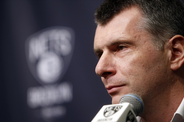 Brooklyn Nets owner Mikhail Prokhorov.