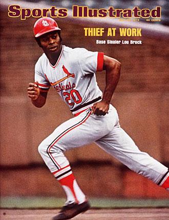 Lou Brock St Louis Cardinals