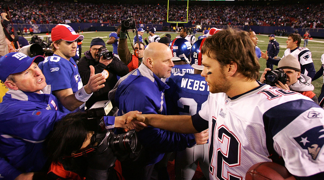 Brady, Manning and Coughlin will meet again on Sunday afternoon in New Jersey.