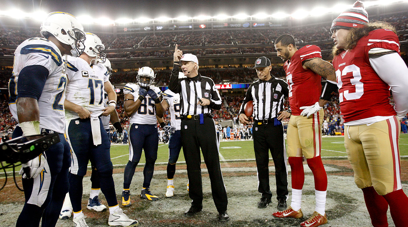The coin flip hasn't been as important since the NFL adopted new OT rules in 2012.