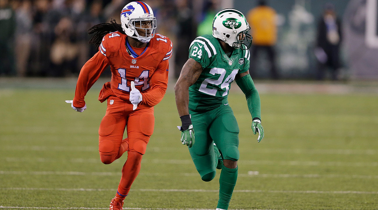 Sammy Watkins got the better of his matchup against Darrelle Revis on Thursday.