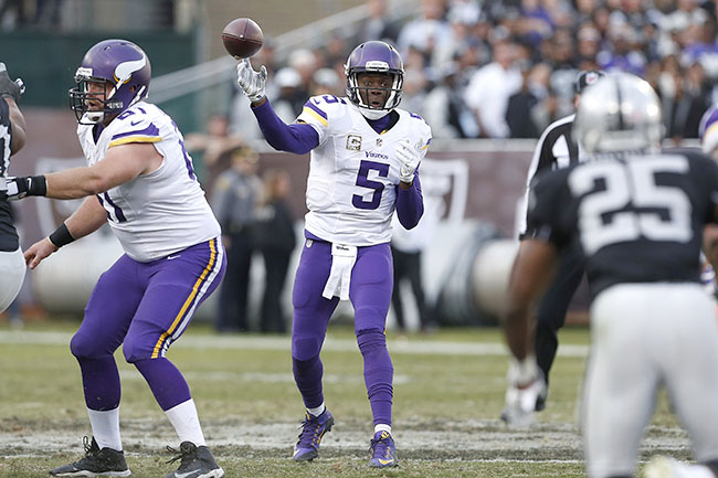 The Vikings have an offense designed around Teddy Bridgewater's limitations.