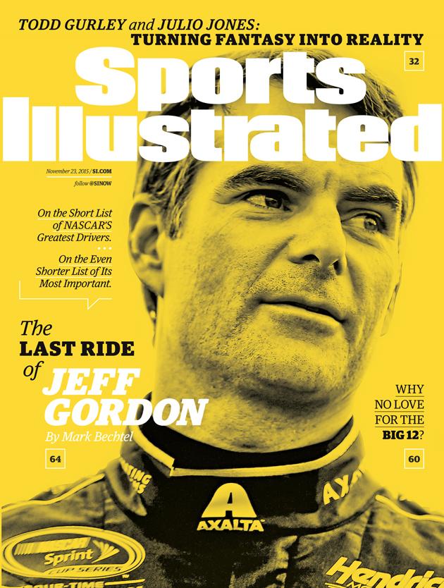 sports illustrated cover jeff gordon nascar