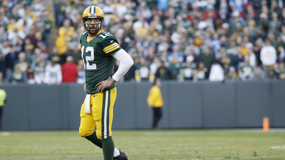 Aaron Rodgers and Green Bay are looking for answers on offense