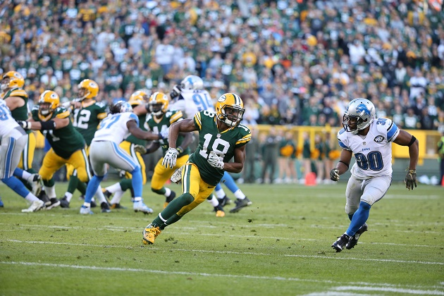 Randall Cobb has had ups and downs as the Packers' No. 1 receiver