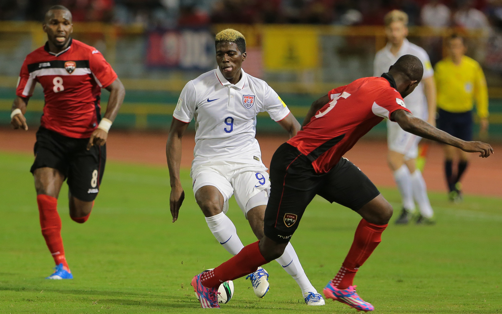 Gyasi Zardes and the U.S. men were held to a 0-0 draw by Trinidad and Tobago in Port of Spain, closing the year with a World Cup qualifying and sitting atop Group C in the semifinal round via goal differential tiebreaker.