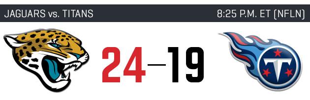 NFL Week 11 picks: Jaguars vs. Titans