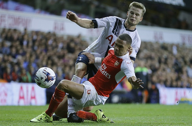 Tottenham's Eric Dier has stabilized the defense in the midfield