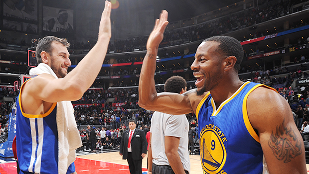 Andre Iguodala Golden State Warriors Los Angeles Clippers