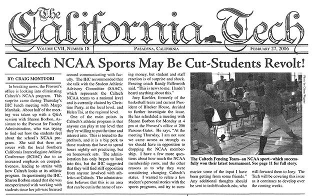 Caltech NCAA