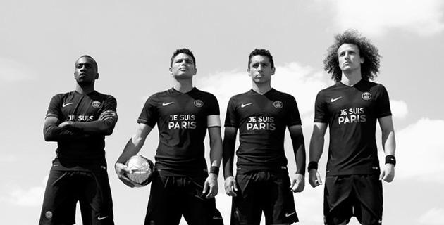 Paris Saint-Germain to wear jerseys honoring Paris attack victims