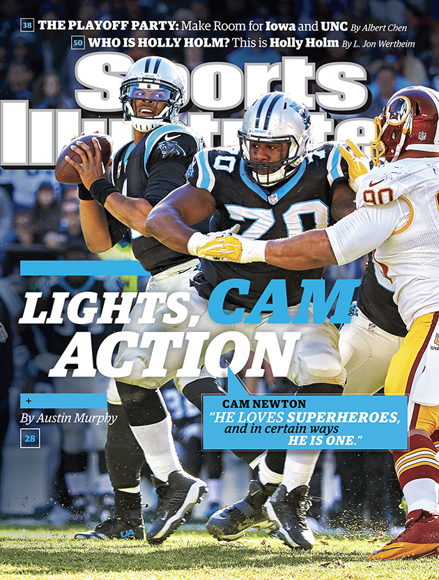 sports illustrated cover cam newton carolina panthers