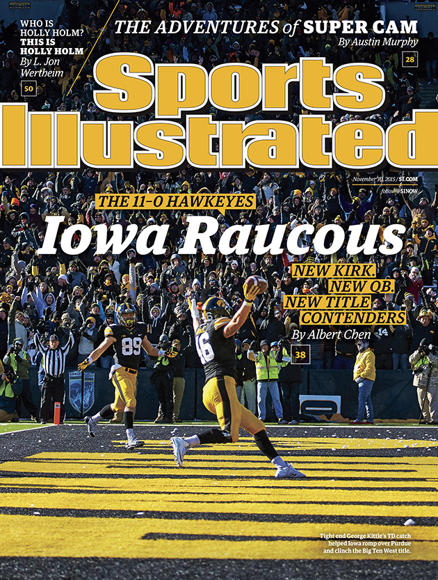 sports illustrated cover iowa hawkeyes football