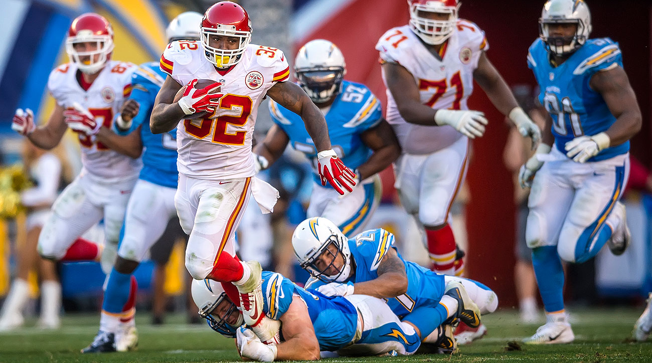 Spencer Ware is one of the Chiefs who has stepped up in the absence of Jamaal Charles.